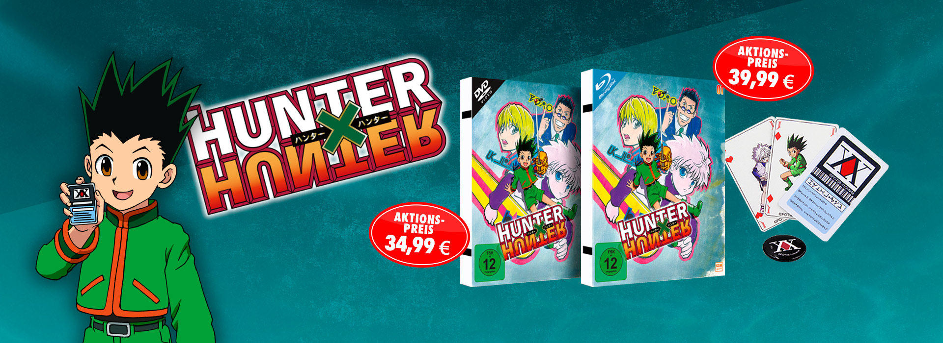 Aktion HunterXHunter