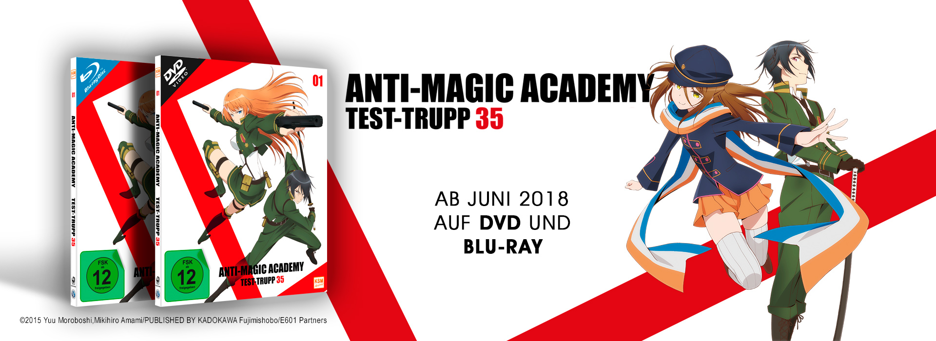 Teaser Anti Magic Academy