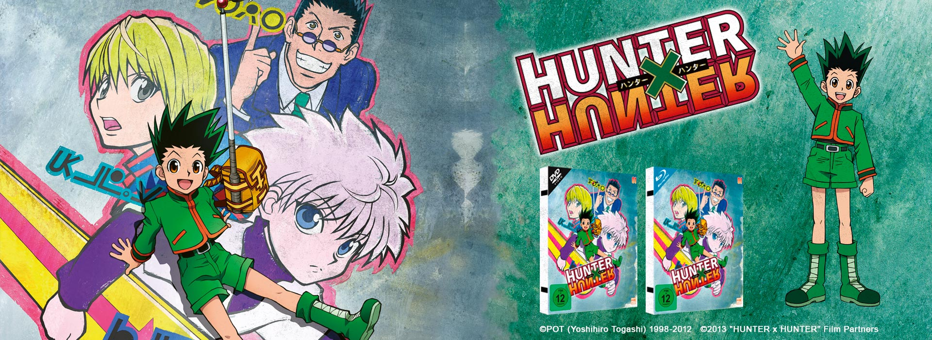 Teaser Hunter x Hunter Vol 1